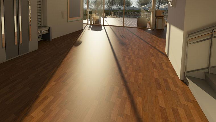 Fußboden in Wohnung